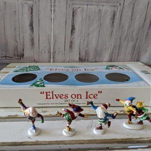 Dept 56 North Pole Village Accessory Series ELVES